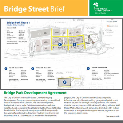Bridge Street Brief